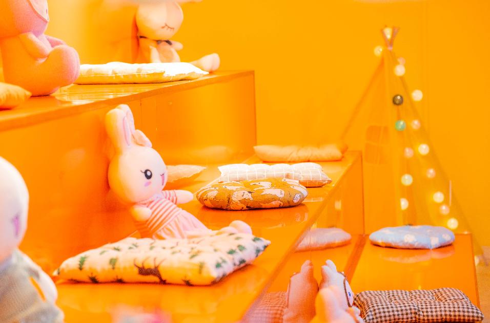 【佛山·禅城区·东方广场】火爆全网新晋网红打卡地~29.9元享96元Me too love安哥拉巨兔体验馆双人门票~饮品+兔子零食 双人门票